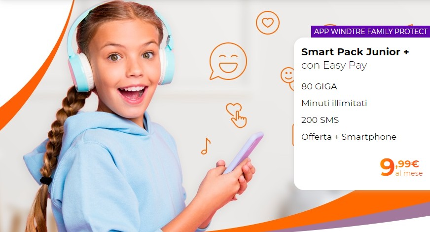 Smart Pack Junior + smartphone incluso